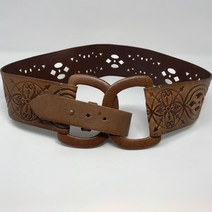 Arden B Accessories - Arden B Leather Belt 2.5 inches